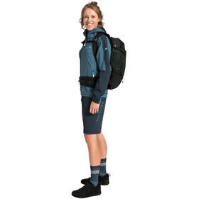 VAUDE Moab II Rain Jacket Women, azul